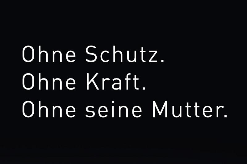 Motiv der Kampagne gegen den illegalen Welpenhandel Copyright: Deutscher Tierschutzbund e.V.