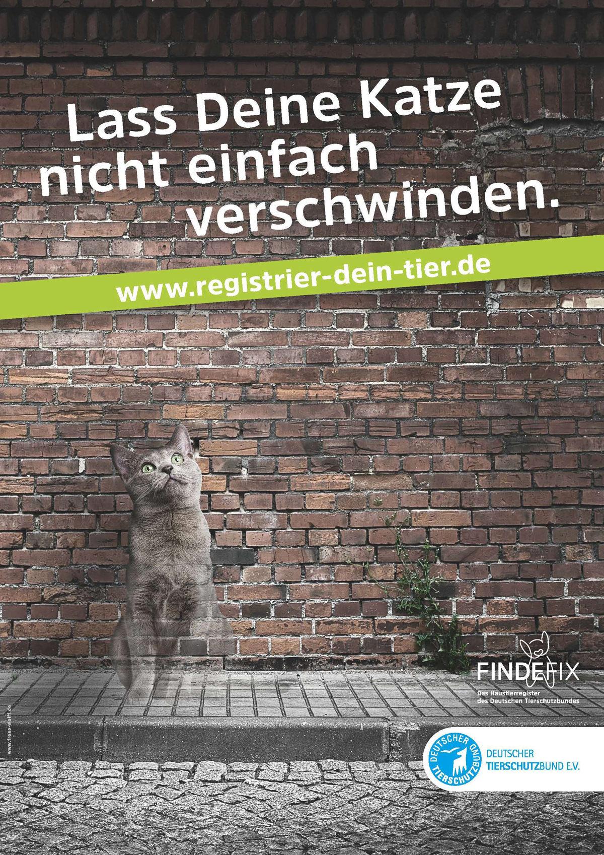 Kampagne Registrier Dein Tier